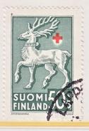 Finland  B 49    (o)  FAUNA  DEER  ARMS  RED CROSS - Finland