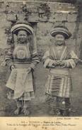 VI)    TONKIN    Région De Laokay  Tribu De La Frontière Du Yénnam Jeune Fille Méo ( Tribu Fleurie) - Viêt-Nam