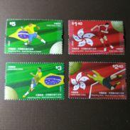 Hong Kong 2009 Football  Stamps - 1997-... Chinese Admnistrative Region