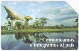 BOLIVIA A-046 Optical Entel - Communication, Satellite Dish - Used