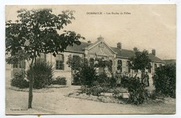 CPA  54  :  DOMBASLE  écoles Des Filles   A  VOIR  !!!! - France