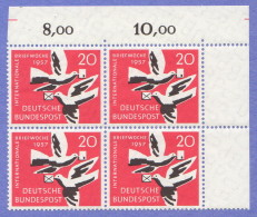 GER SC #775 MNH B4  1957 Int'l Letter Writing Week, CV $3.40 - [5] Berlin