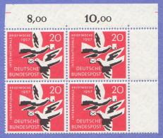 GER SC #775 MNH B4  1957 Int'l Letter Writing Week, CV $3.40 - Unused Stamps