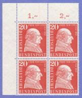 GER SC #776 MNH B4  1957 Baron Vom Stein CV $6.00 - Unused Stamps