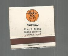 G-I-E , Tabac , Boite, Pochette D'ALLUMETTES, 2 Scans, Publicité, Taureau , Signe De Terre , Ed : Fenwick - Boites D'allumettes - Etiquettes