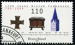 BRD - Mi 2060 - OO Gestempelt (A) - 110Pf                1200 Jahre Bistum Paderborn - [7] République Fédérale