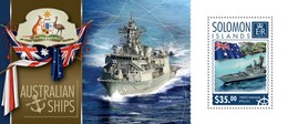 SOLOMON ISLANDS 2014 SHEET AUSTRALIAN SHIPS BARCOS BOATS BATEAUX BARCHE Slm14601b - Salomon (Iles 1978-...)