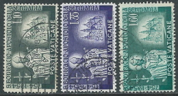 1955 VATICANO USATO S. BONIFACIO - EDV61 - Oblitérés
