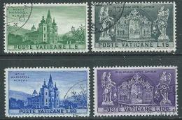 1957 VATICANO USATO SANTUARIO DI MARIAZELL - EDV61 - Oblitérés
