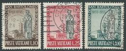 1955 VATICANO USATO S. BARTOLOMEO - EDV61 - Oblitérés