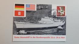 Erste Atomschiff In Der Bundesrepublik 1964 - Ships