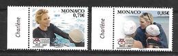 Monaco 2017 - Yv N° 3078 & 3079 ** - 5 ANS DE LA FONDATION PRINCESSE CHARLENE DE MONACO (3335 & 3336) - Neufs