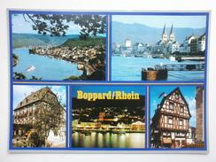 Postcard Boppard Rhein Multiview My Ref B21053 - Boppard