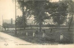 HENRICHEMONT LA PLACE DU JEU DE PAUME - Henrichemont