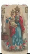 Vergine Del Pozzo  - Imprimatur 1906 - Santini