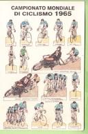 CHAMPIONNAT Du MONDE De Cyclisme 1965  - 2 Scans - Cycling