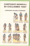 CHAMPIONNAT Du MONDE De Cyclisme 1967  - 2 Scans - Cycling