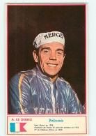A. LE DISSIEZ  - Equipe MERCIER - Photo Miroir Sprint - 2 Scans - Cycling