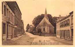 Saint- Hubert  Rue St. Gilles Au Fond L'Eglise            A 6359 - Saint-Hubert