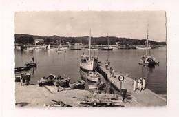 Ile De Porquerolles : Le Port Et L'appontement Des Courriers - Bateau Navette - Marins - Carte Neuve - - Hyeres