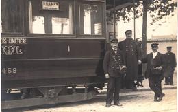 Carte Postale Ancienne De LYON - TRAIN - Lyon