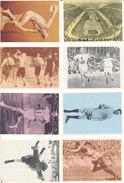 Chocolat POULAIN Lot De 14 Images Les Jeux Olympiques - Old Paper