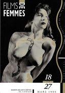 SPECTACLE CINEMA FESTIVAL  FILMS DE FEMMES  16 EME FESTIVAL 1994 CRETEIL POITRINE SEXY SEINS EDIT. CART'COM - Affiches Sur Carte