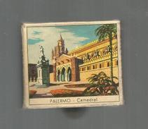 G-I-E , Tabac , Boite D'ALLUMETTES, 2 Scans, Publicité, Italie , Sicile , PALERMO , Cathedral, Italian Folklore - Boites D'allumettes - Etiquettes