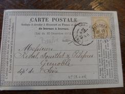Lot Du 19.04.17_précurceur ,variété Sur 59,sellieres (38),OR De Boudin - Postmark Collection (Covers)