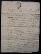 1768 Charente Saintonge Aumagne  Vente De Jacques Jacques à Jean Jacques - Manuscrits