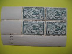 Nouvelle-Calédonie Timbre En Bloc De 4 Poste Aérienne  En Date Du 22/5/1939  Neuf**  à Voir ( 1 Point De Rousseur) - Airmail