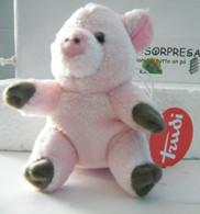 MONDOSORPRESA, (SC53) PELUCHE MAIALE, TRUDI, NUOVO CON TARGHETTA - Cuddly Toys