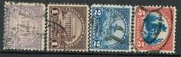 USA 1922 Ordinary Set Scott# 570-573 Used - Gebraucht