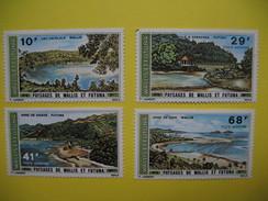 Wallis-et-Futuna  Poste Aérienne Série N° 67 à 70 De  1975  Neuf**  à Voir - Luftpost