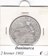DANIMARCA   2  KRONER  1903  COME DA FOTO - Danimarca
