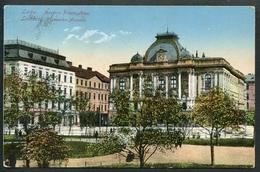 Lwow, Lemberg, Muzeum Przemystowe, Gewerbe Museum, Um 1914, K.u.k. Militärzensur, Zensur - Ukraine