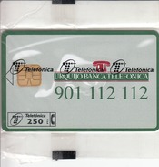 SPAIN - Urquijo Banca Telefonica, P-190, 03/96, Tirage 5.000, Mint