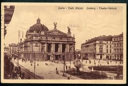 Lwow, Lemberg, Tatr Miejski, Theater, 22.4.1913, Verlag Nasl, - Ukraine