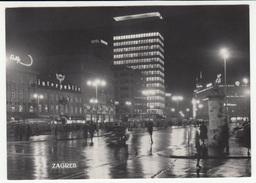 Croatia, Zagreb Old Postcard Travelled B170420 - Croacia