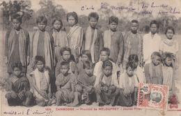 CPA - Province De Melouprey - Jeunes Filles - Cambodge