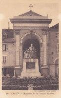 Annecy (74) - Monument De St François De Sales - Annecy