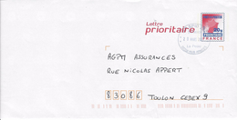 Oblitération Militaire SODEXO  AP SPID 262 .Période Ciappa - Marcophilie (Lettres)