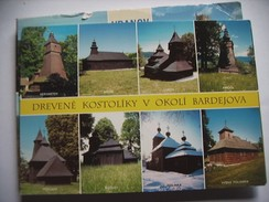 Slovenië Slovenia Slovensko Drevene Kostoliky V Okoli Bardejova - Slovenië