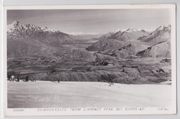 Remarkables From Coronet Peak Ski Slopes New Zealand - Ski - Neuseeland