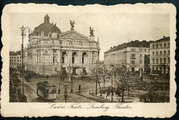 Lwow, Teatr, Lemberg, Theater, 1916, - Ukraine