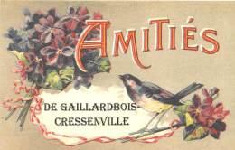 27 - EURE / Fantaisie Moderne - CPM - Format 9 X 14 Cm - GAILLARDBOIS CRESSENVILLE - France