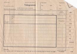 DDR Mint Telegramm - Bowed Several Places   (T15-21) - [6] République Démocratique