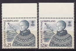 Grönland, 2001,  369/70, Königin Margrethe II. MNH **, - Nuovi
