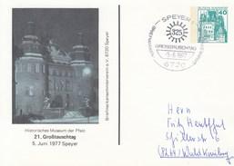PP 100/40  Briefmarkensammlerverein E.V. 6720 Speyer -21. Großtauschtag 177 Speyer - Histoisches Museum Der Pfalz - [7] Repubblica Federale