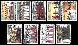 (011) Eritrea  Culture / Dancers / Tänze / 2010 ** / Mnh  Michel  332-40 - Eritrea